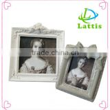 New plastic photo shower decorations promotion table standing photo frame                                                                         Quality Choice