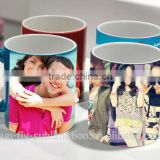 3d sublimation transfer film color changing mug 11oz Sublimation Color Changing Mug sublimation Mug