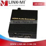LINK-MI LM-HA02 HDMI Audio Extractor With Digital SPDIF & Coax Output