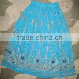 Latest Indian wrap skirts floral design women wrap skirt indian vintage skirt