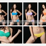 Factory directly top quality latest fashion swimwear bandeau matures in sexy bikinis