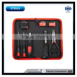 17PCS screwdriver set garage tools bits computer repair tools mini tool bag