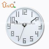 12 hour analog wall clock