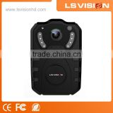 LS VISION China H.264 Portable Police Body Camera Video Recorder whit 2.4 inch LCD WCDMA for Police on sale