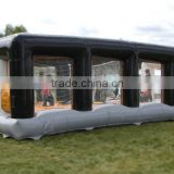 2016 Inflatable bouncy playground,inflatable volleyball field N Inflatable football picth