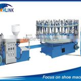Wenzhou Starlink SLM-6-01 Rotary TPR And PVC Shoe Sole Making Plastic Injection Moulding Machinery