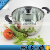 Healthy Non- toxic Stainless Steel Liner Soup Pot,Wholesale cookware cooking stockpot soup,cheap kitchen cooking pot