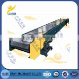 China supplier hot sale heavy duty long life industrial apron chain conveyor for mining conveying