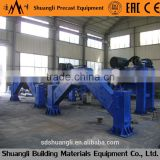 Horizontal suspension roller concrete pipe making machine