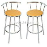Wooden Kitchen Breakfast Bar Stools
