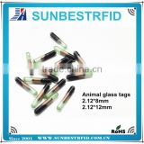 RFID Glass Microchip Tag for Fish ID tracking Gold Arowana