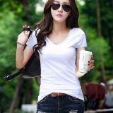 Women's Casual T-Shirt Short Sleeve Basic Tunic Blouse Tops