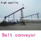 Supply production line sand belt conveyor for sale, construction equipments