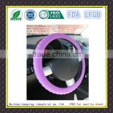 Soft safety durable silicone car steering wheel cover
