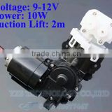 12V piston pump Self-priming piston pump High pressure pumps Chemical pumps 1.5L/min 0.9A