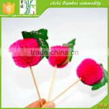 Christmas Decorations Beautiful Paper Honeycomb Ball Food Picks