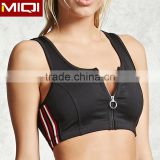 2017 athletic apparel manufacturers yoga sport bra with high quality custom elastic sports bra