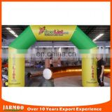 Air bow customized size advertising inflatable archway cheap inflatable arch