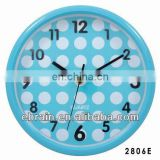 unique prmotional wall clock for gifts,modern design round wall clock