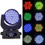 108x3w rgbw led moving head beam led stage light