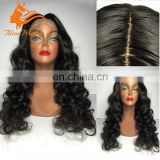 100 Percent Indian Natural Hair Wig High Density Body Wave Silk Base Wig For Black Women Infatable Full Lace Wig