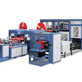 Non-Woven Automatic Box Cubic Bag-Making Machine