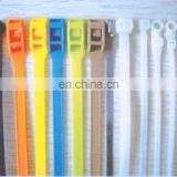 Popular sell !high quality self locking nylon plastic cable tie zip tie UL cable ties