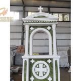 Hand Carved Black Marble Door Frame Surround