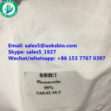 Buy Phenacetin powder 99% 62-44-2,100% reliable supplier and delivery