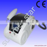Strong quality 532nm q switch nd yag laser for no pain tattoo removal with skin rejuvenation function