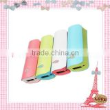 Factory direct wholesale portable power bank for mobile phone, power charger, 2600mah power bank