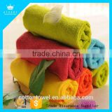 Free Sample Quick-Dry 80% Polyester 20% Polyamide Microfiber Towel Cleaning Microfiber Towel