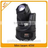 Guangzhou vitop stage light supplier 45W beam mini LED Moving Head                                                                                                         Supplier's Choice
