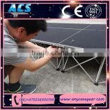 ACS Mobile Folding Stage, Aluminum Stage Platform, Modular Stage for sale
