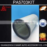 lowest price ! air filter PA5701 PA5702 Outer Air Element for excavator air filter
