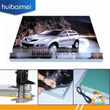 4cm aluminum frame ultra thin LED tension fabric face light box