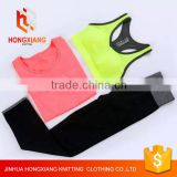 sports yoga set woman Leggings Yoga Pants Exersize with Sports Bra