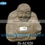 Antique Laughing Buddha Statue