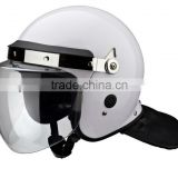 Police equipment safety anti riot helmet with face shield