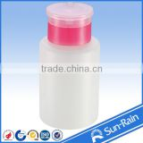 CHINA MANUFACTORY Personal Care Industrial Use and PP,Plastic Material 200ml PP foggy effect nail cleansing pump bottle