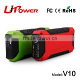 600 Peak Amp Lithium Battery Booster Portable Jump Starter with Micro USB Charging Port