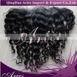 7A Cheap Brazilian Lace Frontal Closure Human Hair 13x4 13*4 Bleached Knots Virgin curly Full Lace Frontal