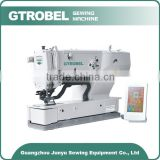 2015 New Design Electronic Flat-bed ButtonHoling newlong sewing machine