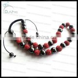 Fashion beaded shamballa necklace
