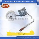 Stainless steel Chemical process sillicon oil-filled Bi-metal Bimetal Thermometer