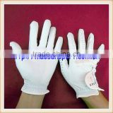 quality exquisite female leather golf gloves logo design