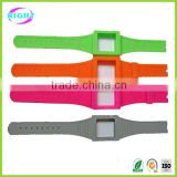 Silicone custom printed watch strap