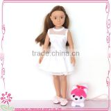 Dongguan make 11 inch custom vinyl doll clothes