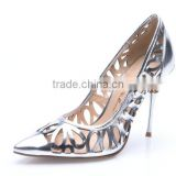 wholsale sexy heel pointy toe women high heel shoes for studded dress