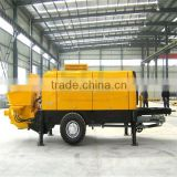 Fully equipped at a lower purchasing cost china made 56m concrete pump truck used condition